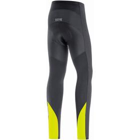 GORE WEAR C3 Partial Gore-Tex Infinium Collants Thermiques Homme, black/neon yellow